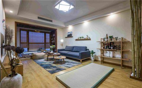 日式风格180平米套房室内装修效果图
