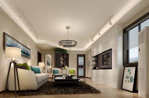 北欧风格120平米套房新房装修效果图