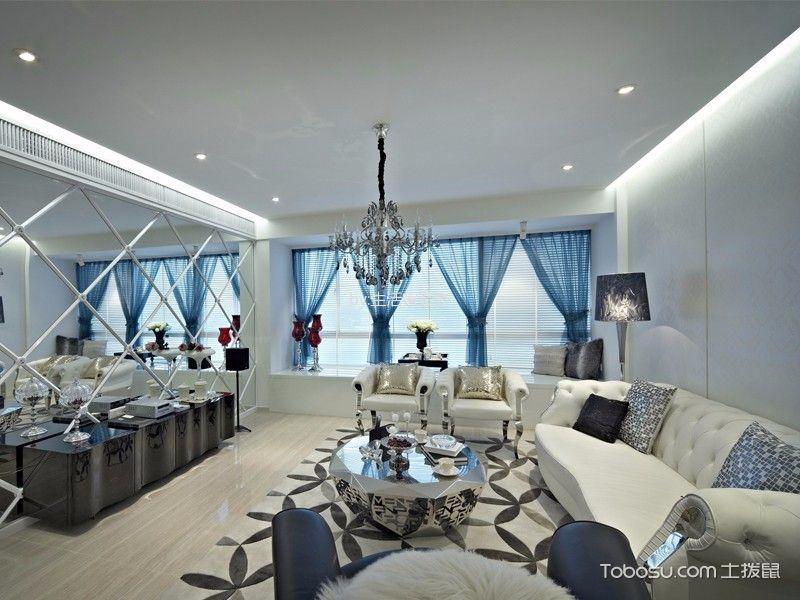 简约风格156平米三室两厅室内装修效果图
