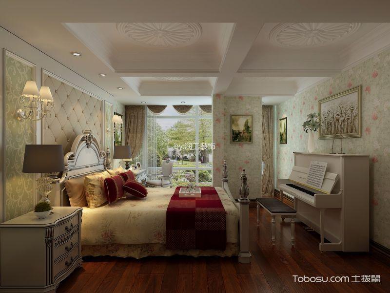 欧式风格200平米别墅房子装饰效果图