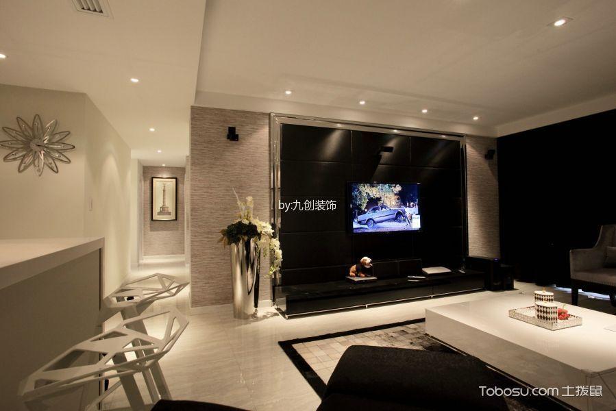 安联优悦城110平米现代简约风格三居室装修效果图
