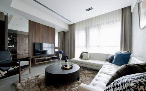 简单风格100平米小户型房子装饰效果图