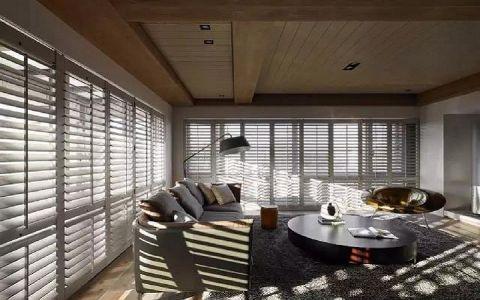 最新客厅窗帘效果图图片