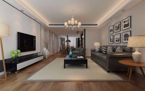 简约风格400平米别墅新房装修效果图
