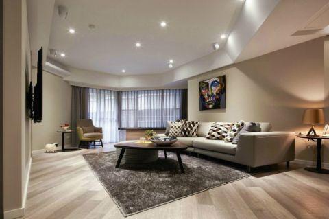 现代简约风格300平米别墅房子装饰效果图