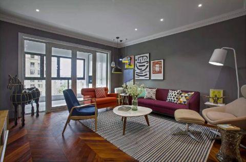 北欧风格140平米套房室内装修效果图