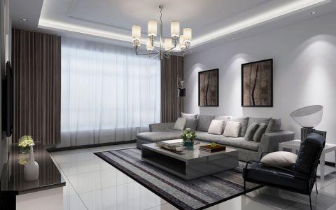 温馨客厅现代室内装饰