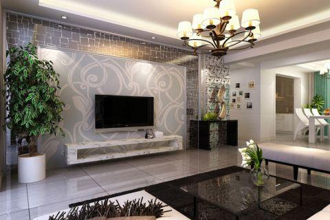 纯净客厅现代装饰设计图片