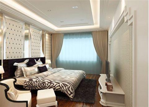 2019欧式卧室装修设计图片 2019欧式吊顶设计图片