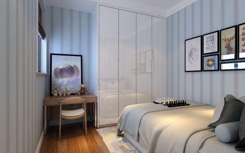 卧室照片墙简约装饰实景图