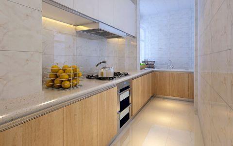 简约厨房橱柜室内装修设计