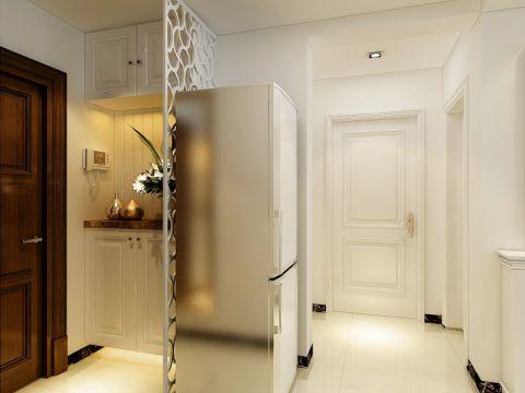 玄关白色走廊现代简约风格装修设计图片