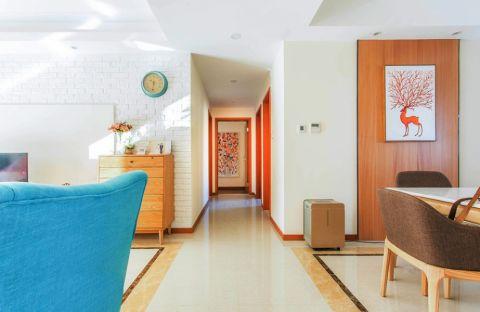 2018混搭客厅装修设计 2018混搭走廊装修效果图大全