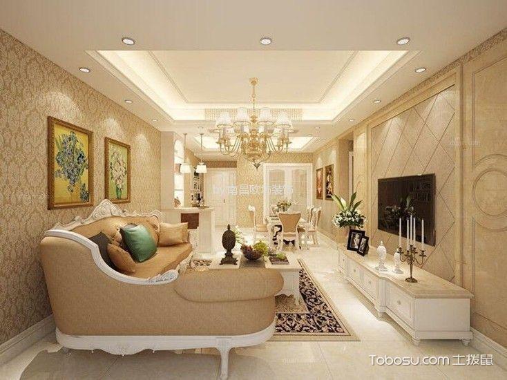 现代简约风格145平米4房2厅房子装饰效果图