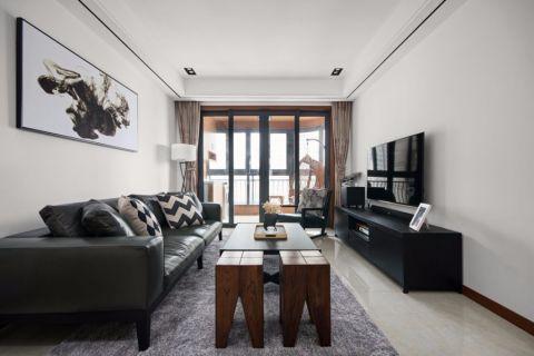 锦华装饰97平三室二厅一厨一卫现代风格案例
