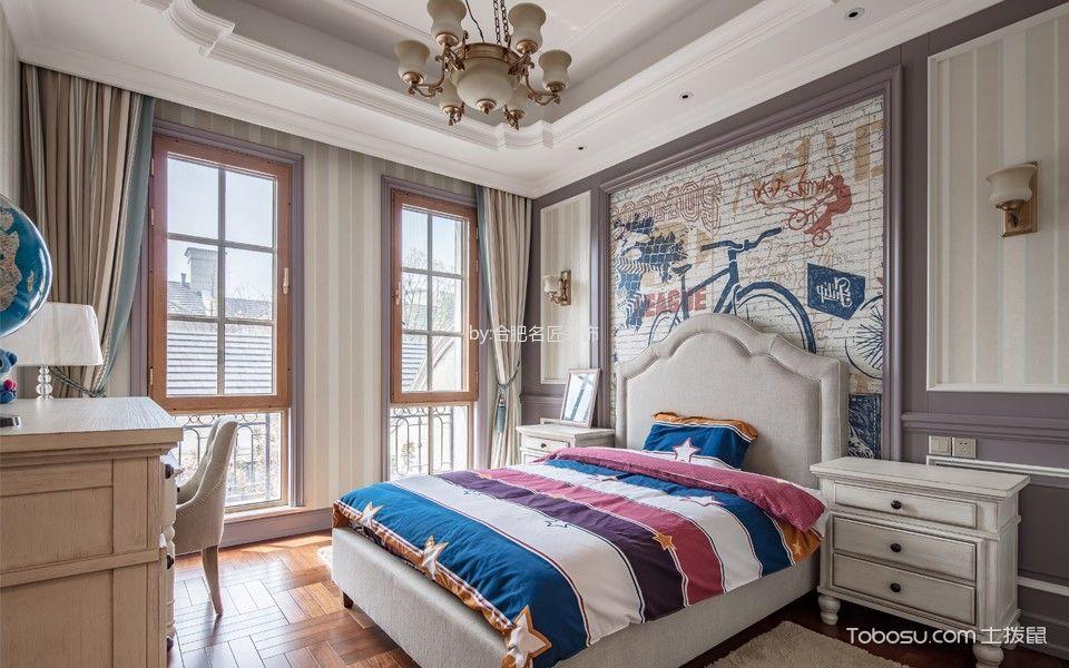 美式风格400平米别墅房子装饰效果图