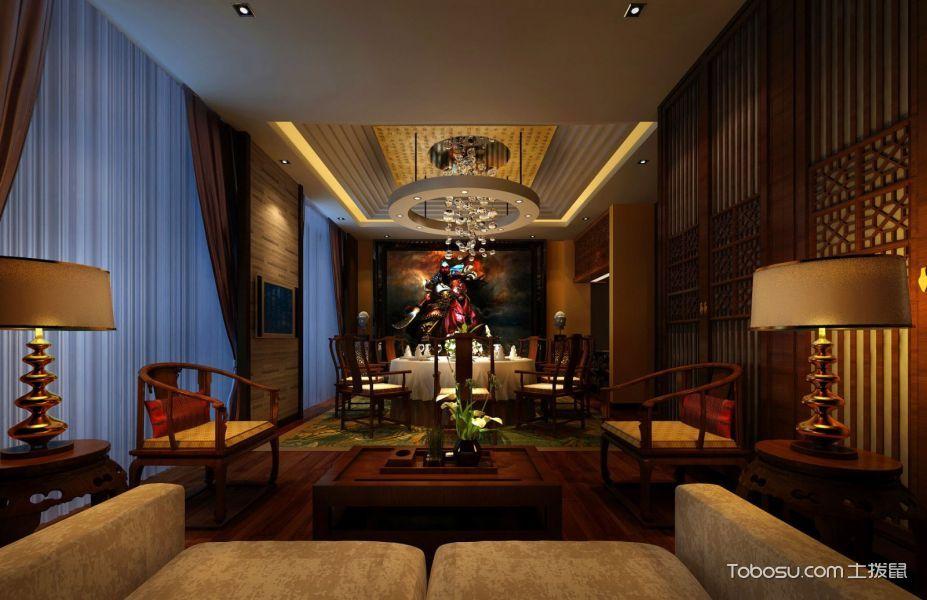 玉兰轩高级饭店吊顶装修设计图片