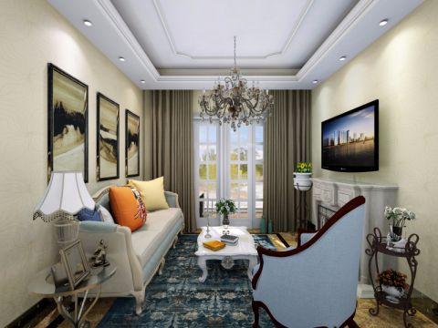 简欧风格60平米小户型室内装修效果图