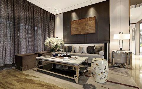 新中式风格155平米四室两厅室内装修效果图