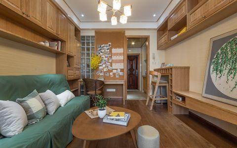 银河湾100平米日式风格三居室装修效果图