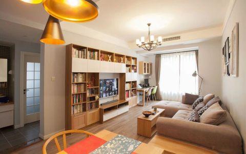北欧风格100平米楼房装修设计案例