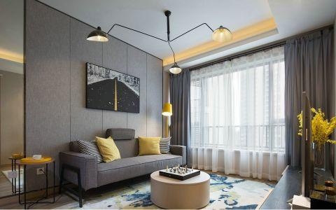 80平米北欧风格套房家装设计案例