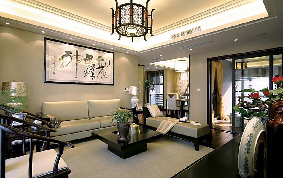 3室1卫2厅135平米新中式风格