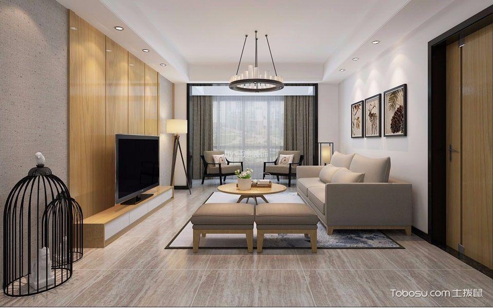 简约风格170平米大户型新房装修效果图