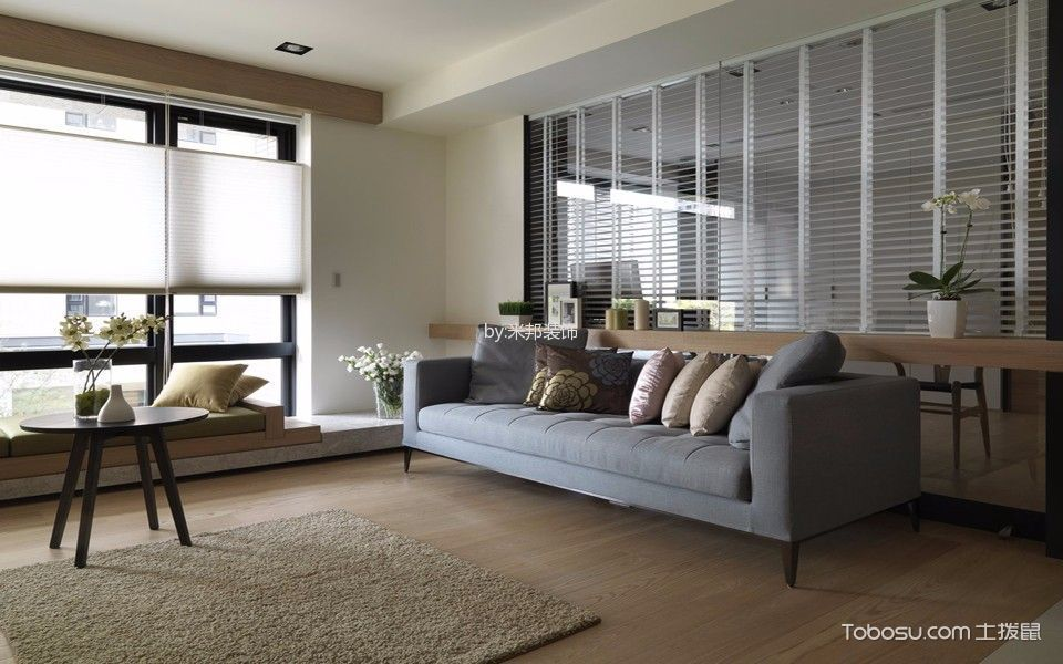 简约风格139平米3房2厅房子装饰效果图