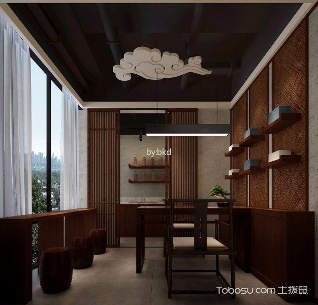 寻秦记古法养生会馆会客厅装潢设计图片