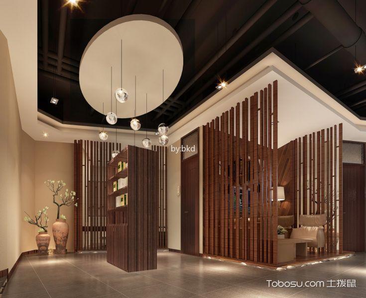 尤美护肤美容会馆会客厅设计效果图