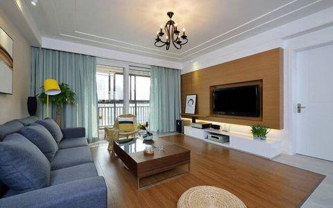 冠芳园90平现代风格二居室设计