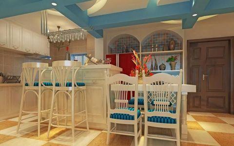 餐厅吊顶混搭风格装修效果图
