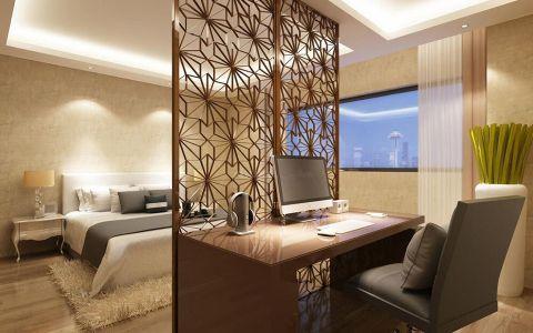 卧室隔断现代风格装饰图片