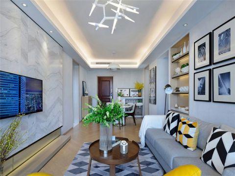 简欧风格210平米四房两厅新房装修效果图