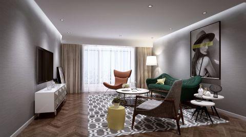 简约风格150平米四房两厅新房装修效果图