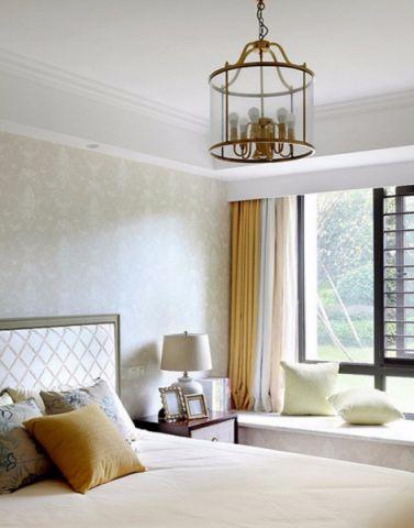 卧室窗帘混搭风格装潢图片