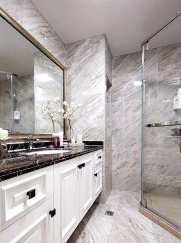 卫生间吊顶混搭风格装饰设计图片