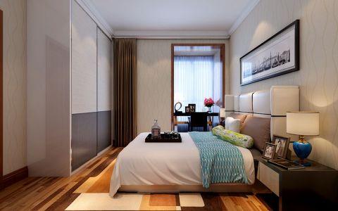 卧室窗帘简约风格装潢设计图片