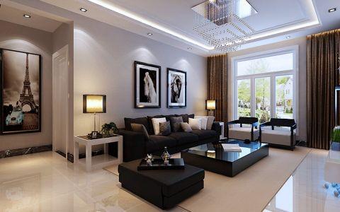 简约风格108平米小户型室内装修效果图
