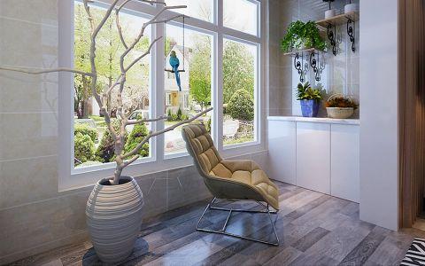 阳台窗台简约风格装修设计图片