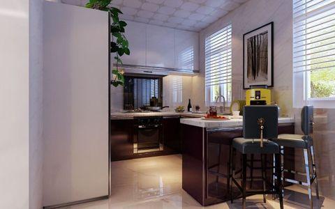厨房吧台简约风格装饰设计图片