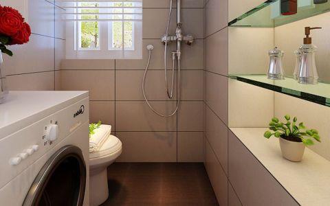 卫生间窗台简约风格装修效果图