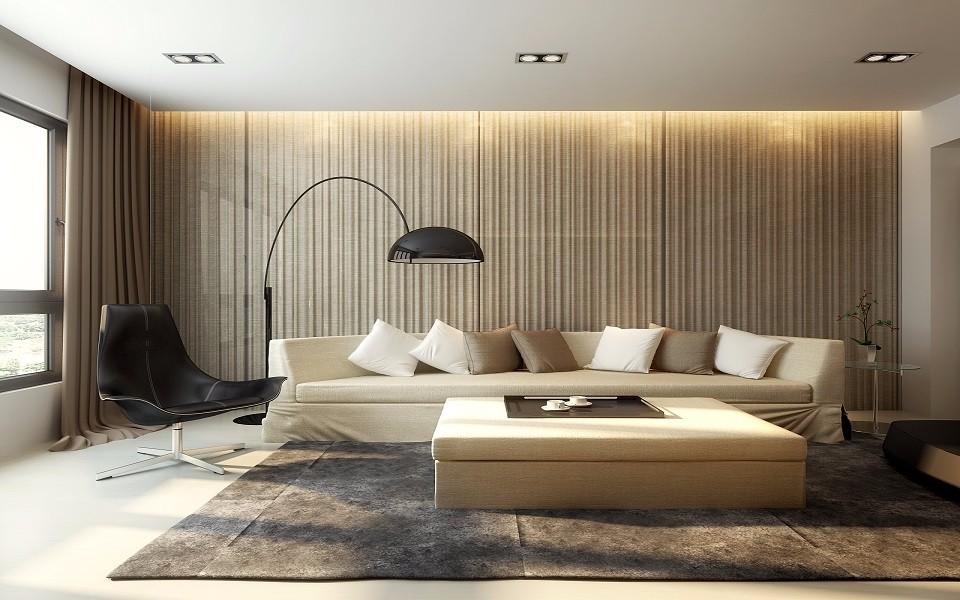 3室1卫1厅110平米简约风格