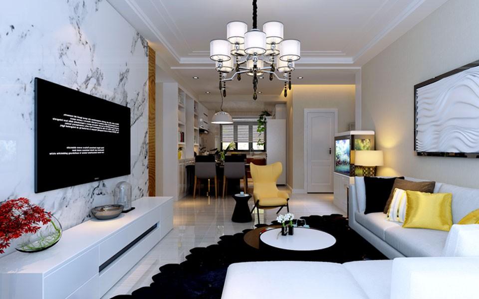 3室1卫1厅134平米简约风格