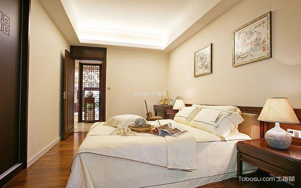 重庆融创凡尔赛花园住宅103平米新中式风格效果图