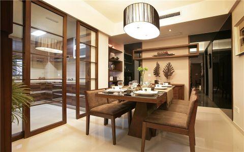 中式风格100平米3房2厅房子装饰效果图