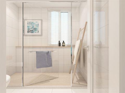 卫生间背景墙简约风格装修图片
