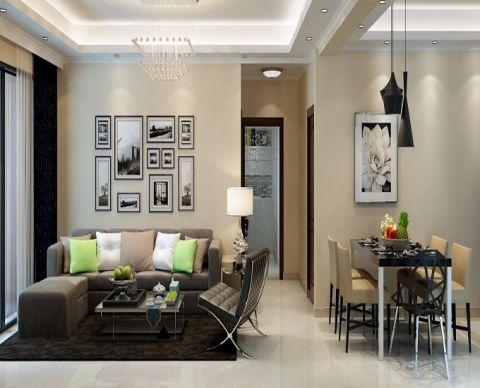 简约风格70平米2房2厅房子装饰效果图