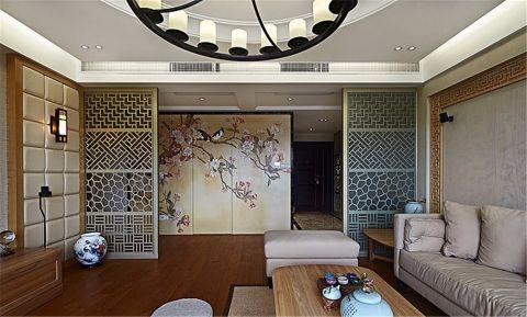 客厅隔断中式风格装饰效果图